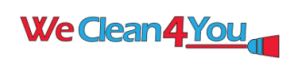 We Clean 4 You Logo
