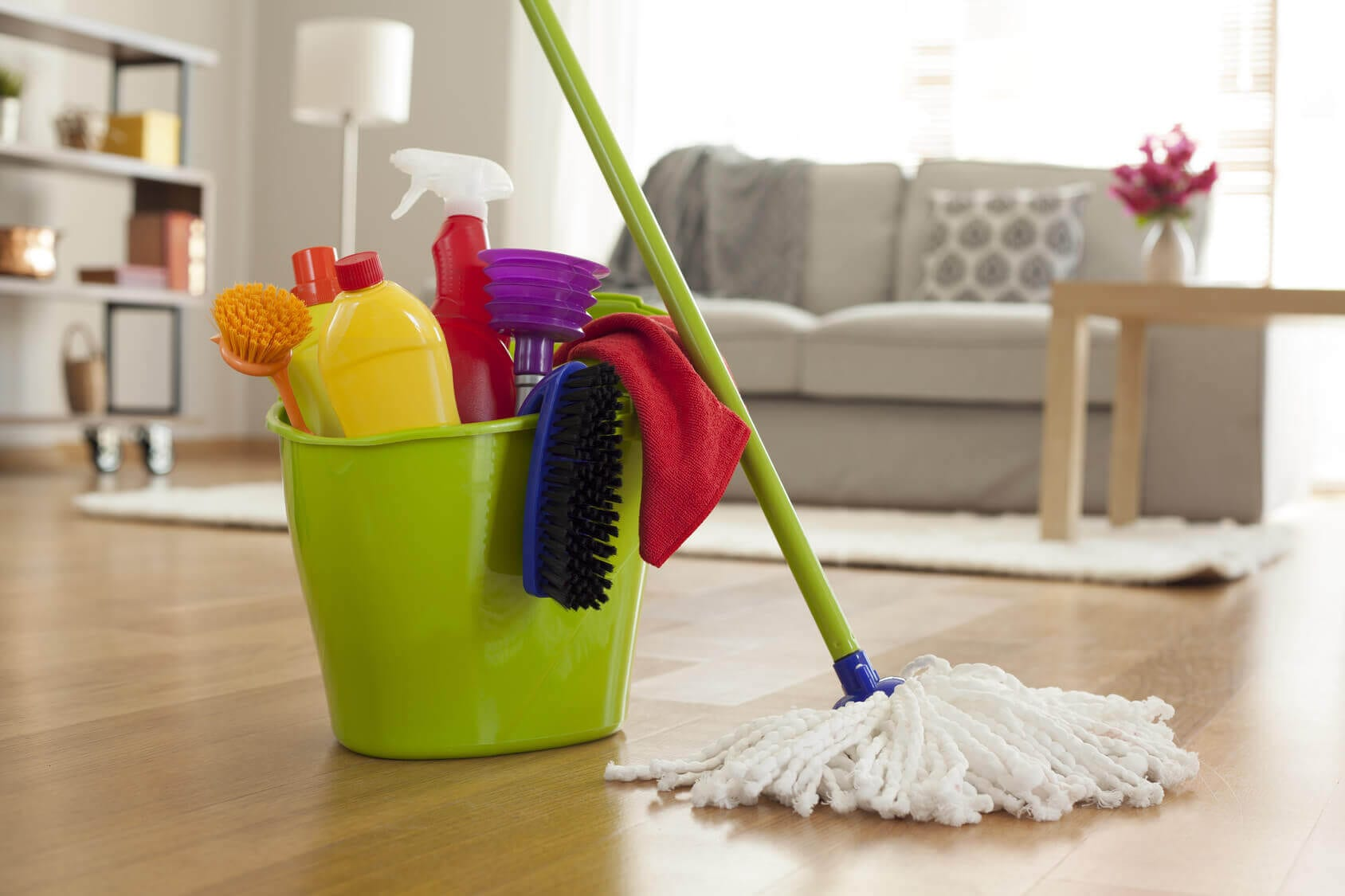 daily floor cleaning maintenance