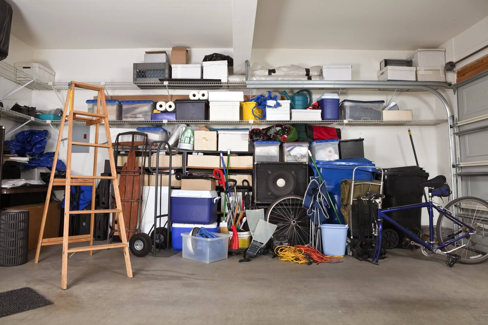 Garage Mess - Get Organized