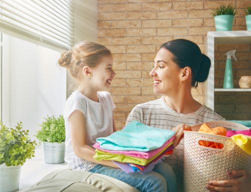 Is a clean home relative to a healthy life?