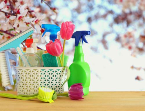 Easy Spring Cleaning-Wipe Winter Away!