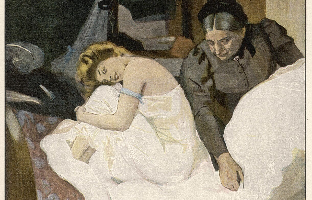 Maid and Bed. Date: 1908
