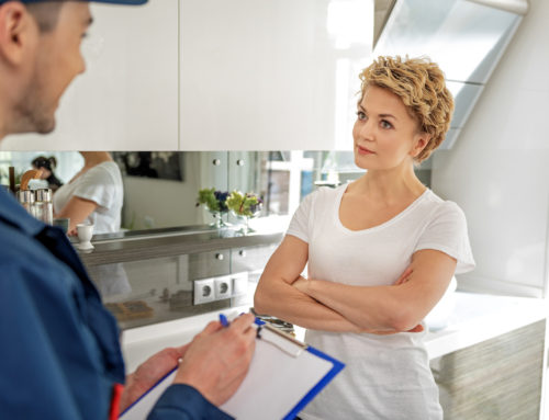 Who is servicing your home?