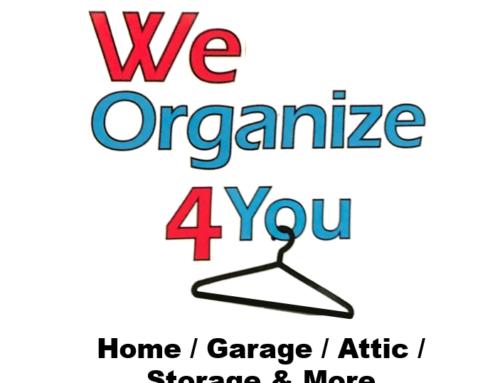 We Organize 4 You